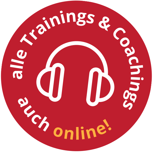 Alle Trainings und Coachings auch online